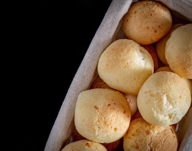 Receitas de Pão de queijo Fit
